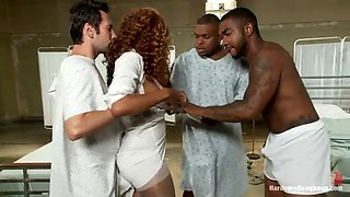 black nurse fucked by whole staff
