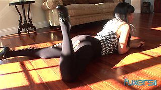 Isis Love Latina doggystyle seduction with her BBC black friend
