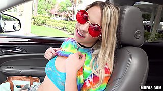 stranded teen trades sex for a car ride