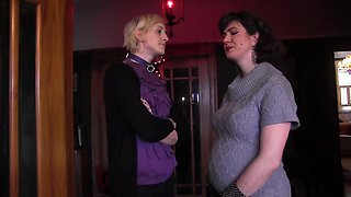 Sadie Lune and her horny friend have fun with new sex toys