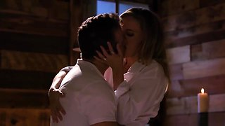 Mona Wales has a romantic love session with her handsome man