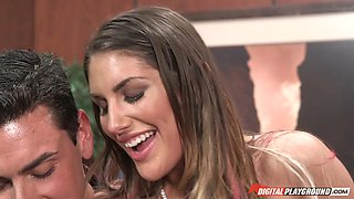 porn star august ames gets fingered by her patient
