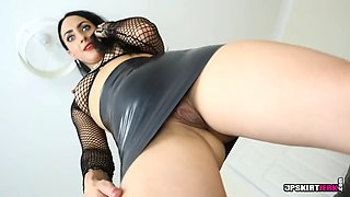 upskirt joi domination