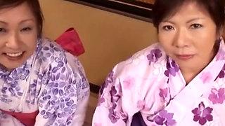 Japanese 2 Boobs Mature Bathroom Play