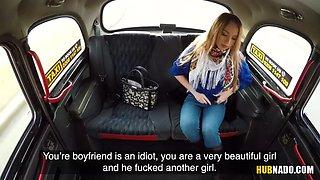 desperate teen kira thorn undresses in the backseat