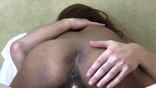 Asian Filipina street whore fucked raw