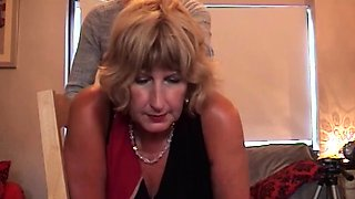 British Mature Rose does ass to mouth before cum swallow