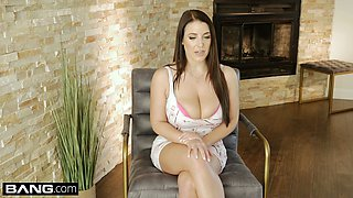 Angela White sucks and fucks teacher to get out of traffic school