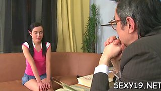 Sexy lesson in wild seduction