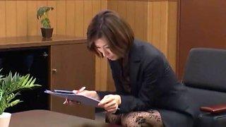 Amazing Japanese model Akari Asahina in Hottest Stockings JAV scene