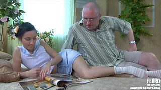 Sexy Teen Gets Fucked By an Old Man
