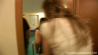 UNBELIEVABLE CZECH GIRLS AT MEGA SWINGERS