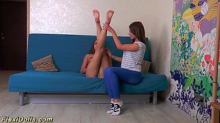 flexi teen stretched like a doll