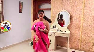 Shasi aunty romance show hot boobs by venkatmaths