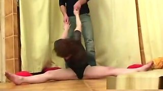real doll stretching