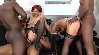 Horny pornstar in fabulous anal, group sex xxx video