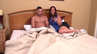 Mother Catches Son Jacking Off