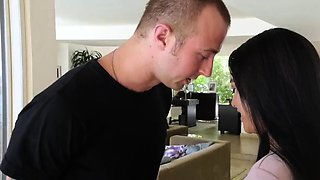Mixed wrestling sex kink and oil fight Mommy Loves Movie Day