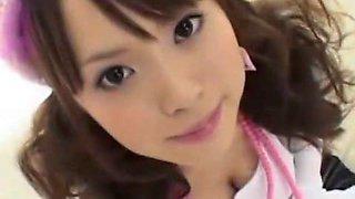 Horny Japanese chick Yuri Kousaka in Best Dildos/Toys, POV JAV scene