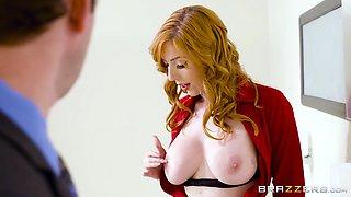 lauren phillips got her nice big tits worshipped in the toilet