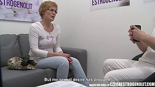 mature woman with Czech estrogenolit injection