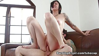 Incredible pornstars Nikki Hearts, Tommy Pistol in Hottest Emo, Brunette adult movie
