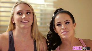 Squirting Stories Part 2 - Adriana Chechik, AJ Applegate, Megan Rain