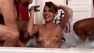 Double bath face cumshots